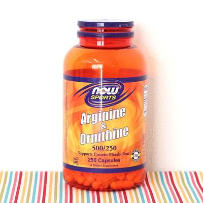 アルギニン&オルニチンのサプリメント