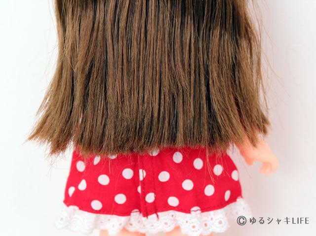 ソランちゃんの髪の毛