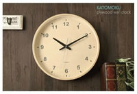 KATOMOKU カトモク 壁掛け時計