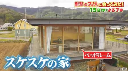 スケスケの家 スケスケハウス ドミノハウス 富士山麓 富士河口湖町
