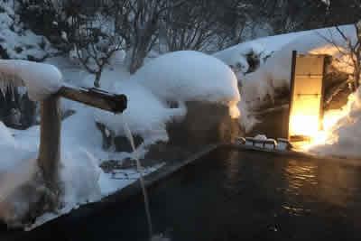 雪見の湯(混浴)八丁の湯 奥鬼怒温泉