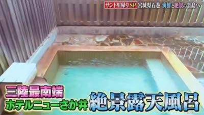 ホテルニューさか井 絶景露天風呂