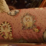 ルパンの娘 イヌ&ネコ柄ピンククッション
