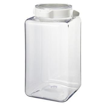 カインズ ワンプッシュで開閉できる保存容器2.8L